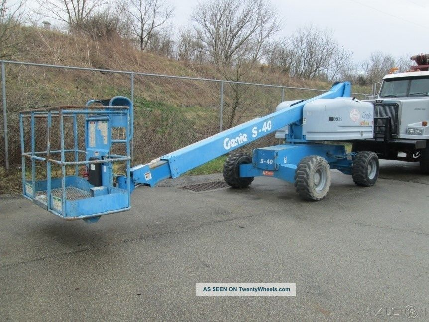 2006 Genie S40 Scissor & Boom Lifts photo