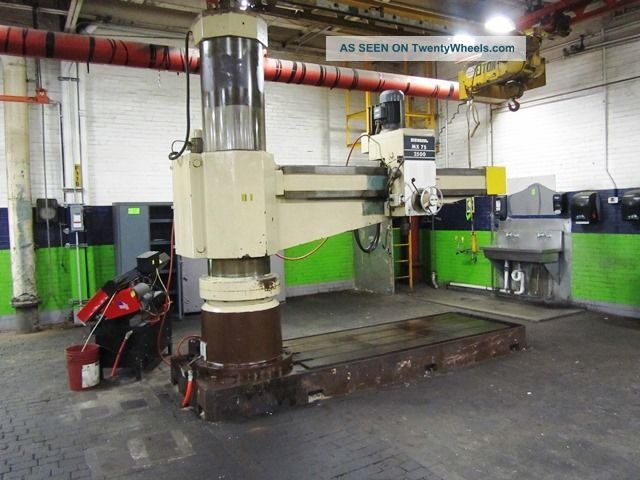 Sbl South Bend Radial Arm Drill Drilling & Tapping Machines photo