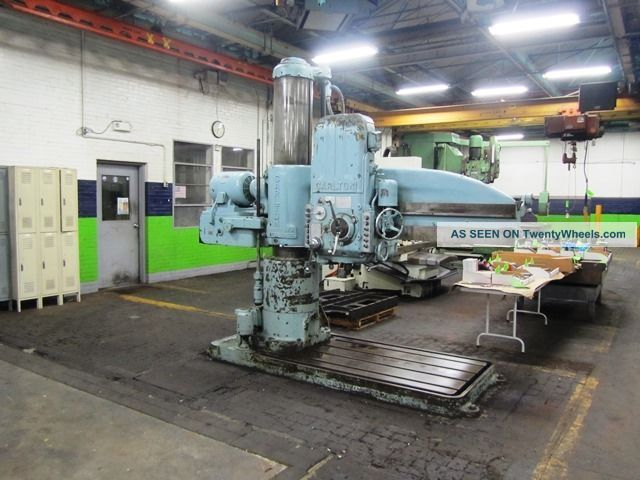Carlton Radial Arm Drill Drilling & Tapping Machines photo
