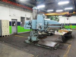 Carlton Radial Arm Drill photo