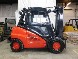 2005 Linde H30t 6000lb Pneumatic Forklift Lpg Lift Truck Hi Lo 86/184 photo