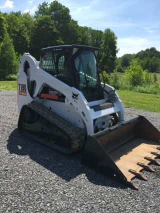 2011 Bobcat T190 Skid Steer Loader Available Soon Heat/ac Enclosed Cab We Ship photo