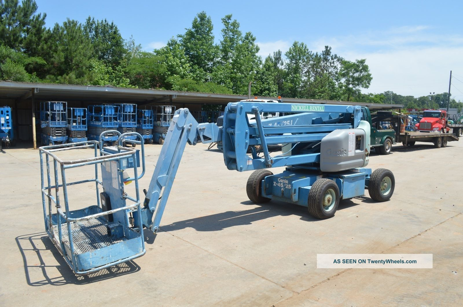 45 ' Electric Knuckle Boom Lift Scissor & Boom Lifts photo