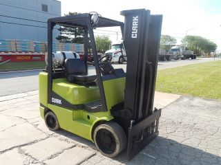 Clark Forklift - 6,  000 Lbs Capacity photo