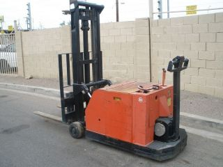 Baker Electric Walk Behind Forklift With Charger Ex.  Cond. photo