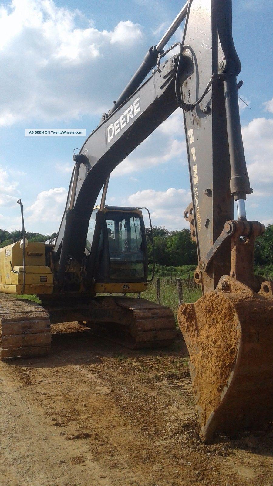 2007 John Deere 200d,  Lc Strong,  Great Shape. . Excavators photo