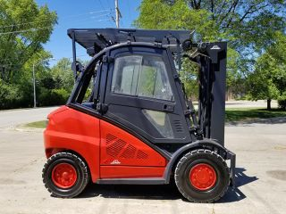 2013 Linde H45d 10000lb Pneumatic Forklift Diesel Lift Truck Hi Lo 94/185 photo