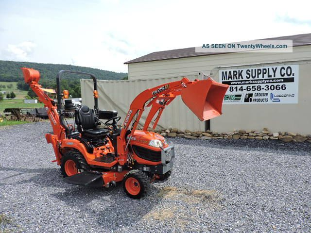 2015 Bx25d Compact Tractor Loader Backhoe Belly Mower 4x4 Diesel 3 Point Hitch See more 2014 Kubota BX25D Tractor Loader Backhoe Hydro... photo
