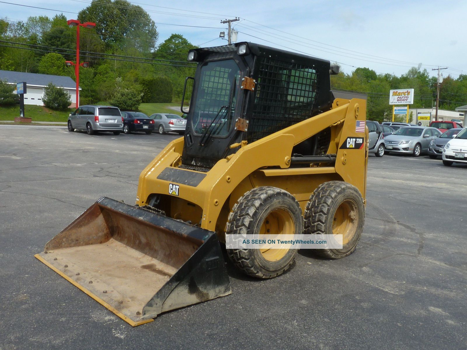 1999 Caterpillar 226 Skid Steer Skid Steer Loaders photo