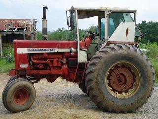 1969 I.  H.  856 Diesel Farm Tractor photo