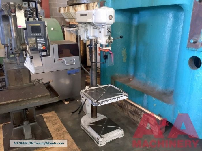 Rockwell Pedestal Drill Press 21773 Drilling & Tapping Machines photo