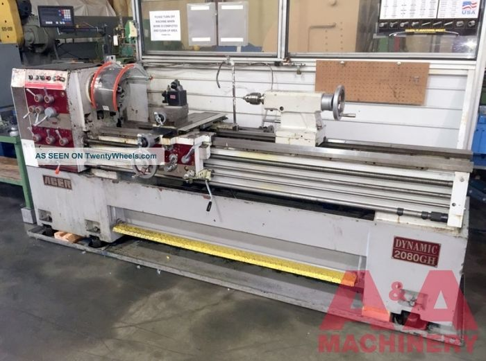 Acer 20 X 80 Gap Bed Lathe 21771 Metalworking Lathes photo