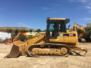 2006 Caterpillar 953c Crawler Loader W/rippers; Aux.  Hydraulics; 7070 Hrs photo