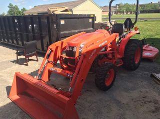 2012 Kubota Tractor/mower La525 photo