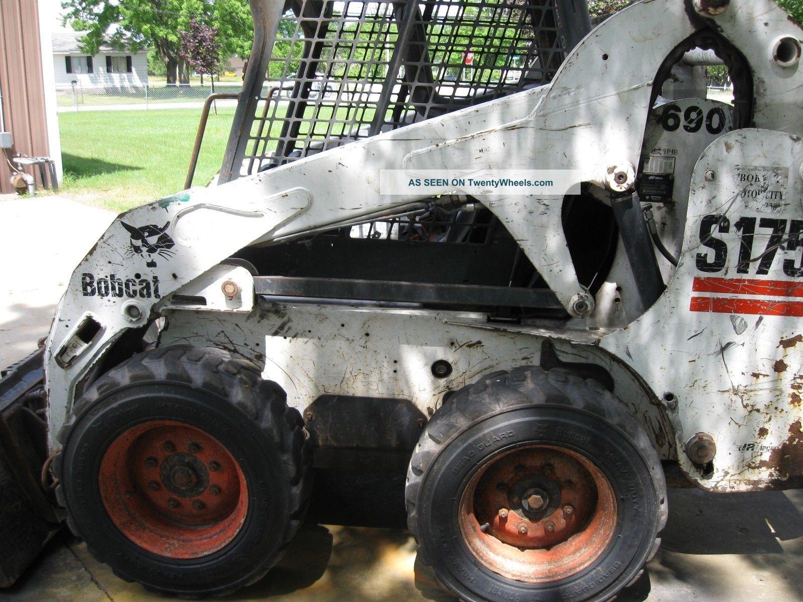 Bobcat S175 Skid Steer Loader 2006 Heavy Equipment
