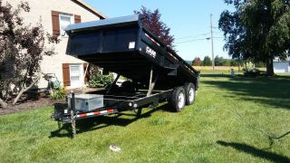 Cam Superline 7x14 6 Ton Dump Trailer photo
