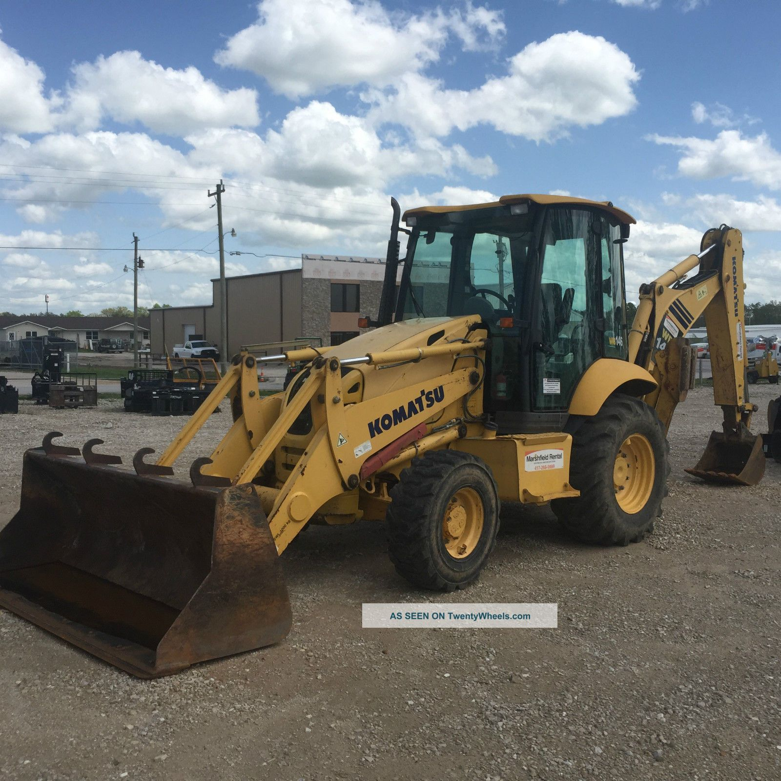 2007 Komatsu Wb146 Backhoe Extendahoe 4x4 Backhoe Loaders photo