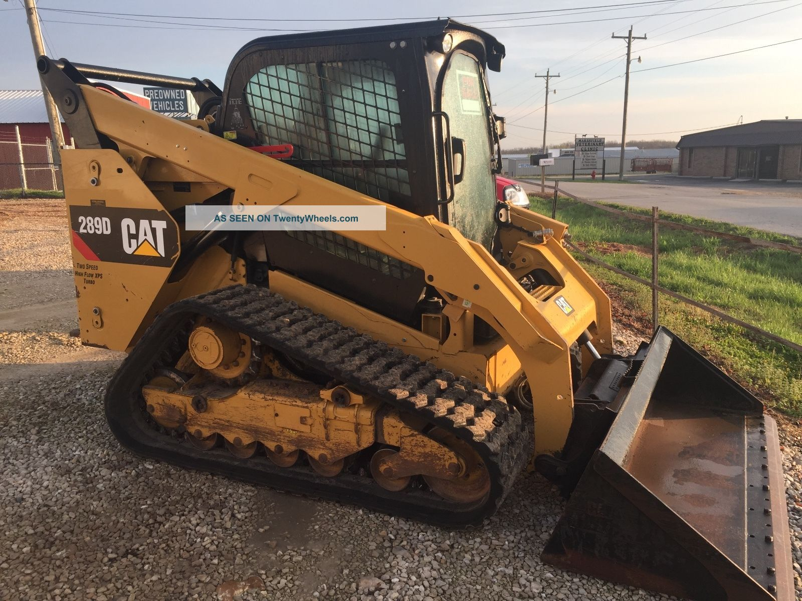 2014 Caterpillar 289d Heat/air Backup Camera Skid Steer Loaders photo