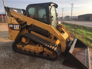2014 Caterpillar 289d Heat/air Backup Camera photo