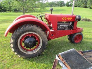 1937 2 Co - Op Tractor photo
