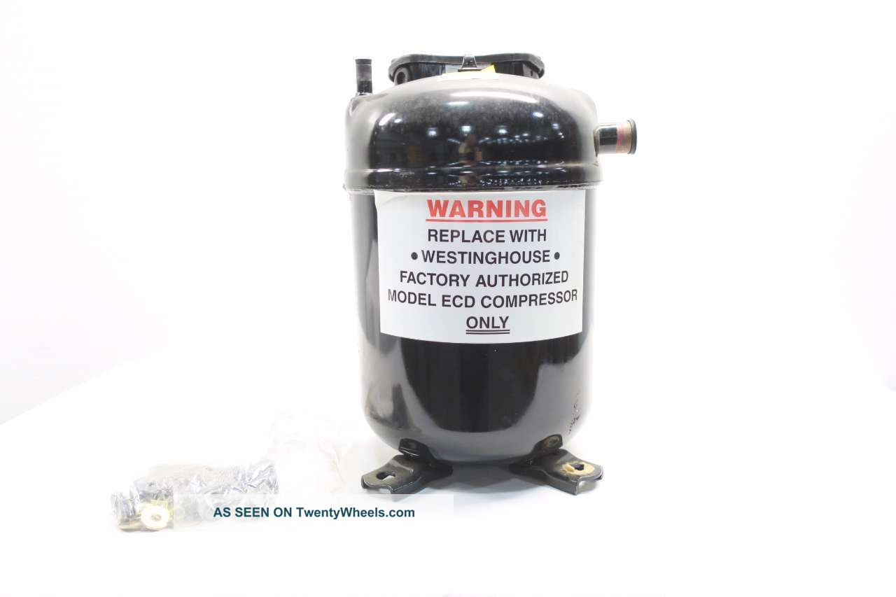Westinghouse Ecdo72a1q R22 Compressor Unit 480v - Ac D564358 Heating & Cooling Equipment photo