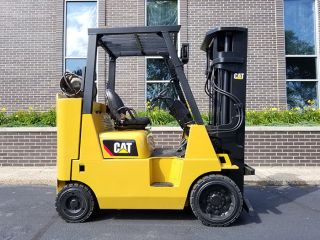 2012 Cat Caterpillar Gc40k 8000lb Cushion Forklift Lpg Lift Truck Hi Lo photo