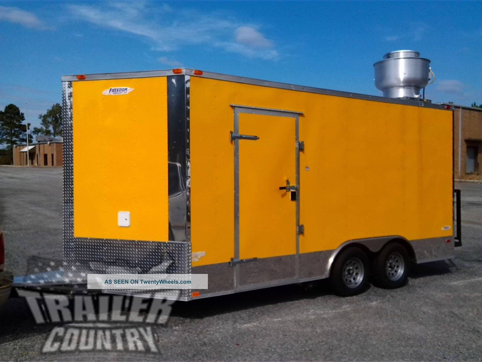 2017 8.  5x16 8.  5 X 16 V - Nosed Enclosed Concession Food Vending Bbq Trailer Trailers photo