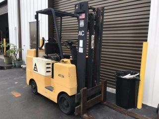 Florklift Allis - Chalmers Lp Gas Fork Lift 3000 Lb Capacity photo