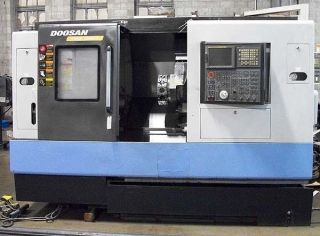 Doosan Daewoo Puma 2000sy Cnc Turning Center Lathe With Live Tools & Sub Spindle photo