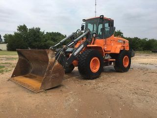 2012 Doosan Dl250tc Wheel Loader photo