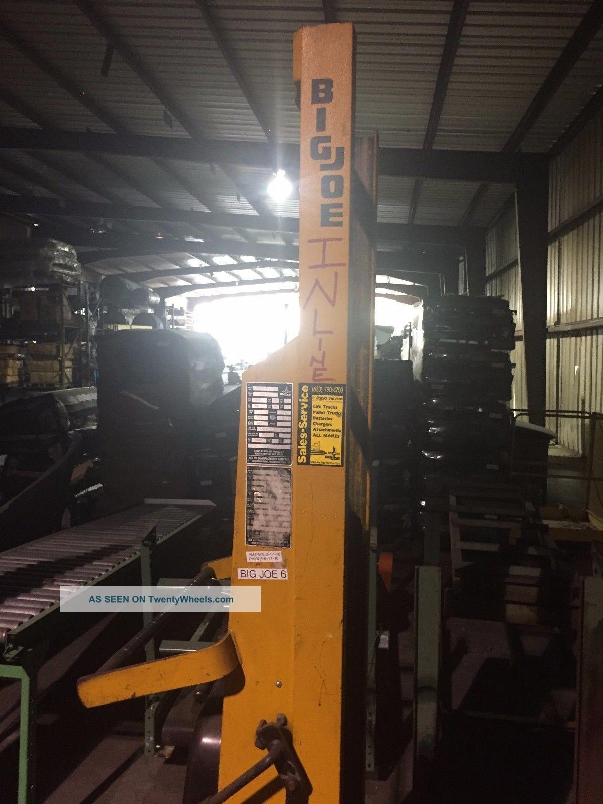 Big Joe Forklift 2000lb Capacity 12v Forklifts photo