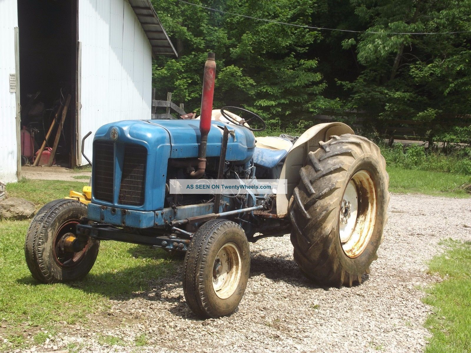 54 Hp Ford (fordson) Tractor. ,  Field Ready. Tractors photo