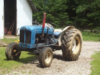 54 Hp Ford (fordson) Tractor. ,  Field Ready. photo