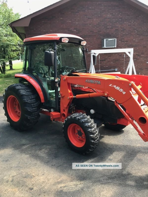2012 Kubota L5740 Hst Cab+ Loader+ 4x4 With 290 Hours.  Hydrostat Trans - 57hp Tractors photo