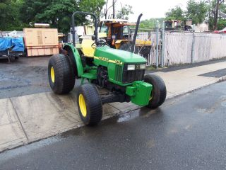 John Deere 5210 4x4 Tractor Daul Remotes Three Point Hitch photo