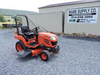 2007 Kubota Bx1850 Sub Compact Tractor Mower 54