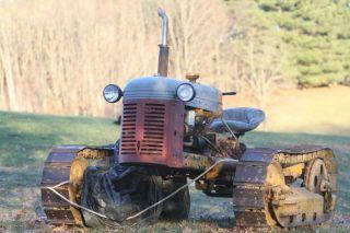 Barn Find Oliver Oc - 3 Crawler,  Pto Belt Pulley On Back, , photo