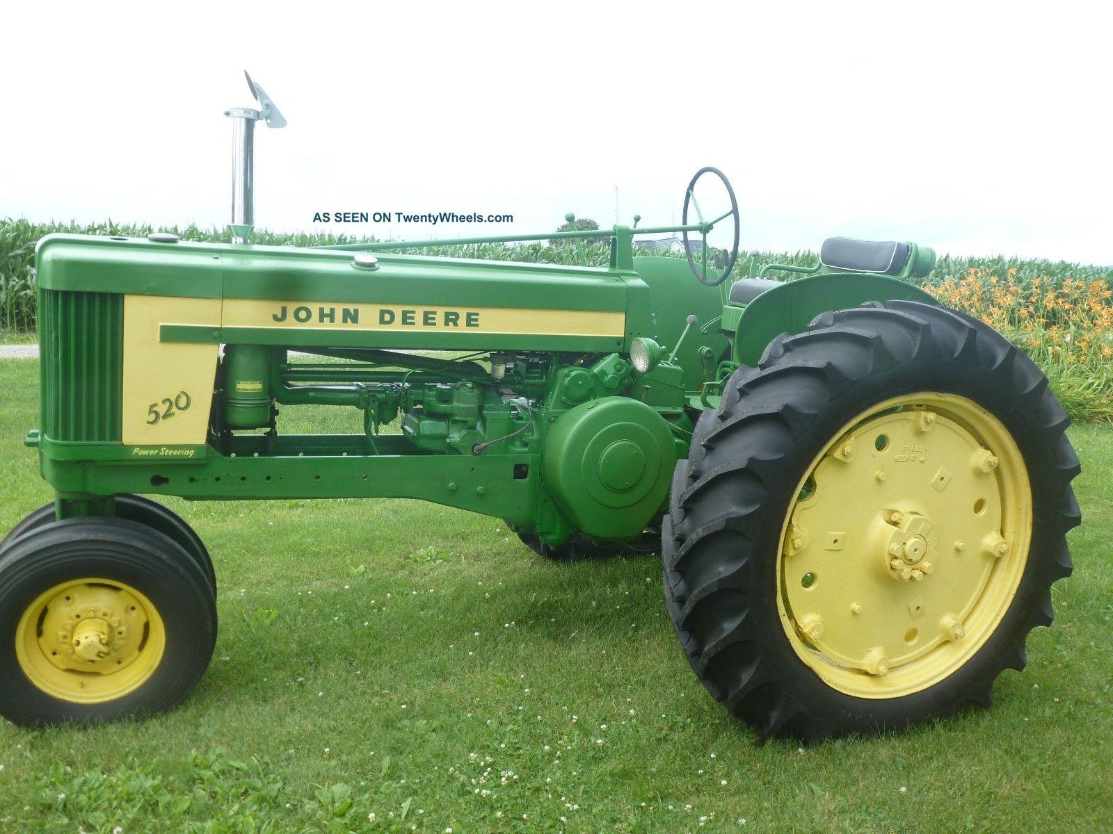 John Deere 520 Tractor Clutch : John deere tractor