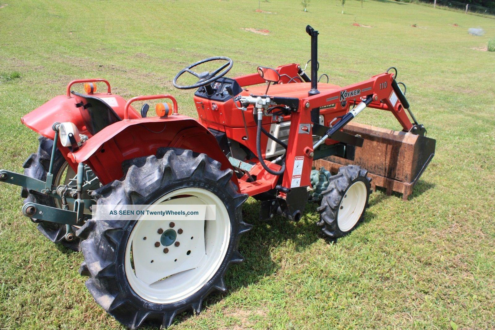 Antique Yanmar Tractors : Vintage tractor yanmar model and