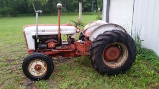 Ford 801/881 Powermaster Tractor - Diesel,  Select - O - Speed Trans,  3 Pt Hitch,  Pto photo