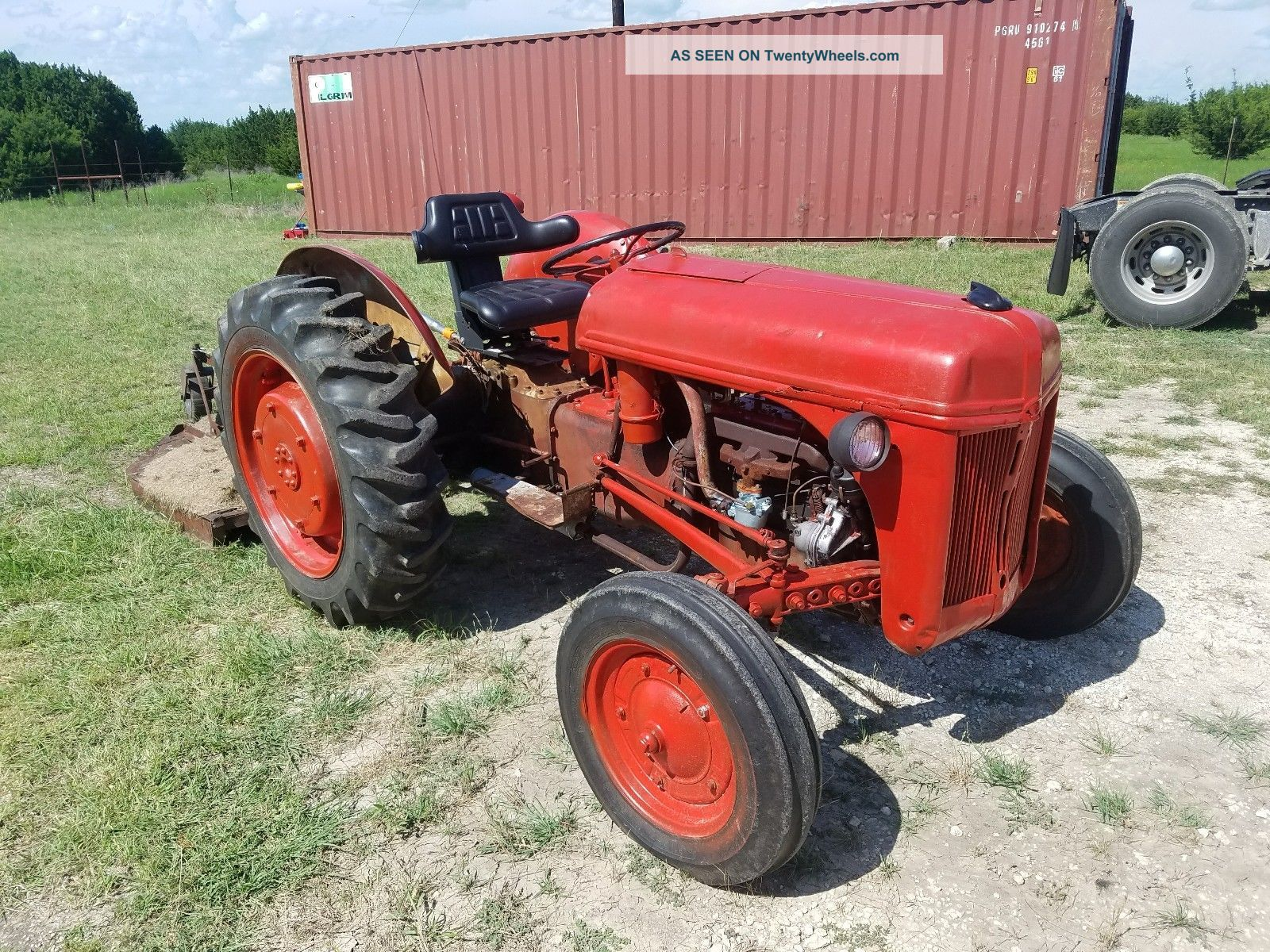 Ford 8n Tractor Antique & Vintage Farm Equip photo
