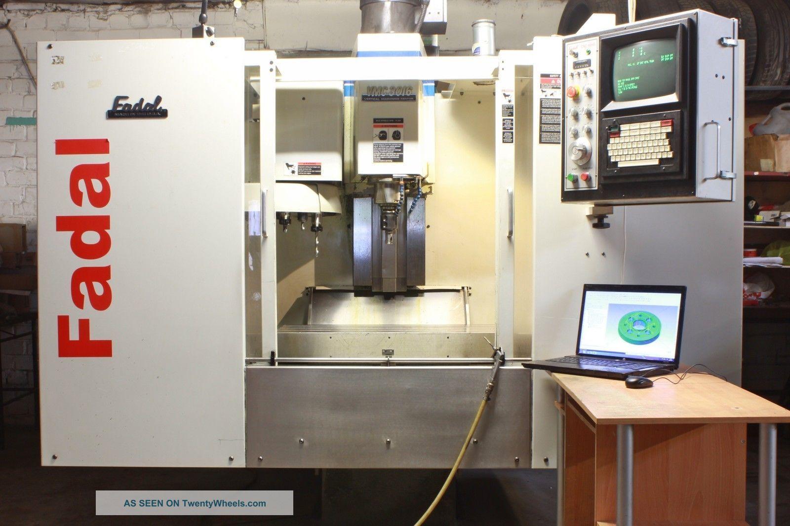 Cnc Milling Machine Fadal Vmc 3016ht Model 904 - L (1997) 3 - Axis Milling Machines photo