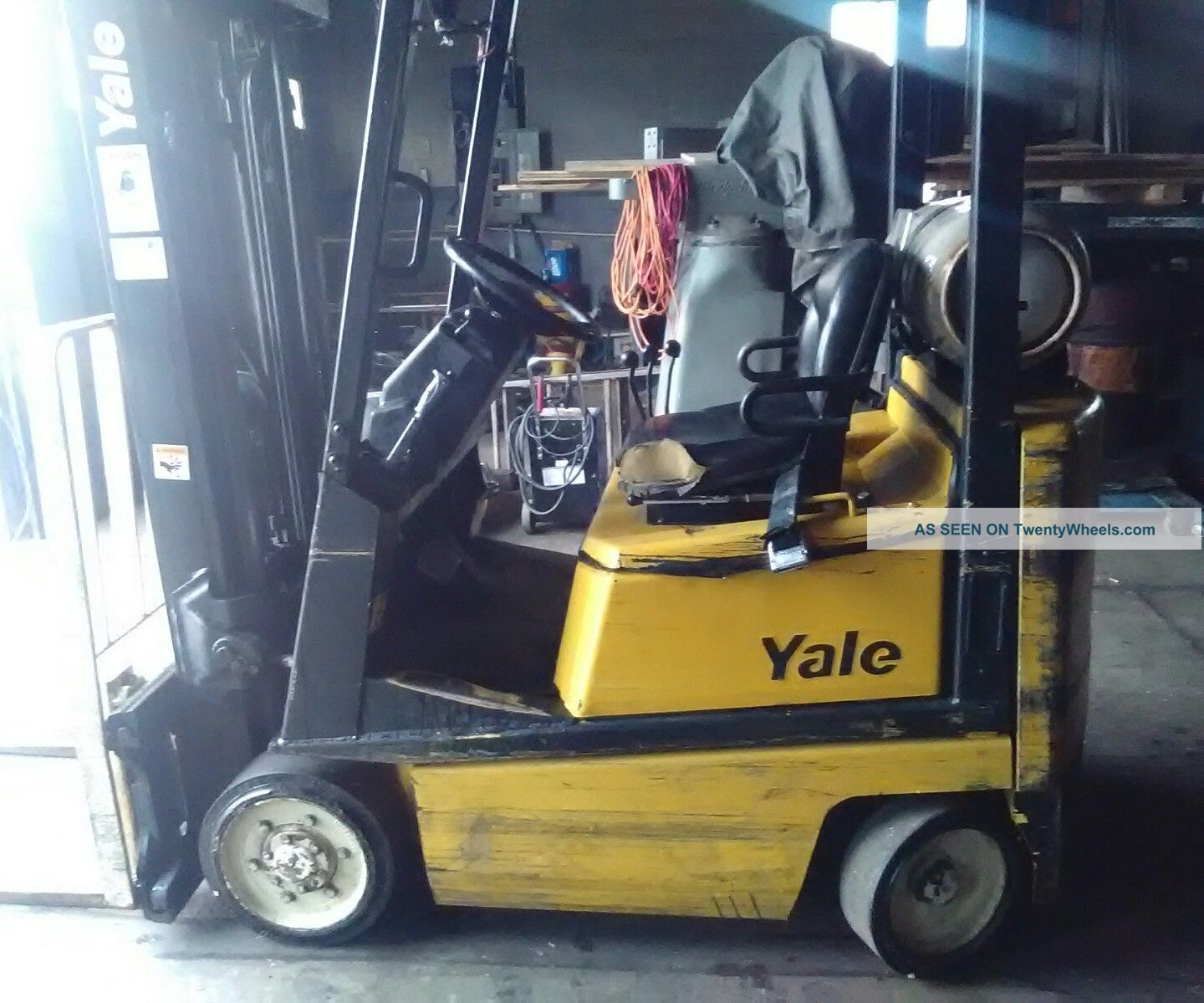 1998 Yale Forklift With Mazda Fe 2.  0 Sohc Forklifts photo