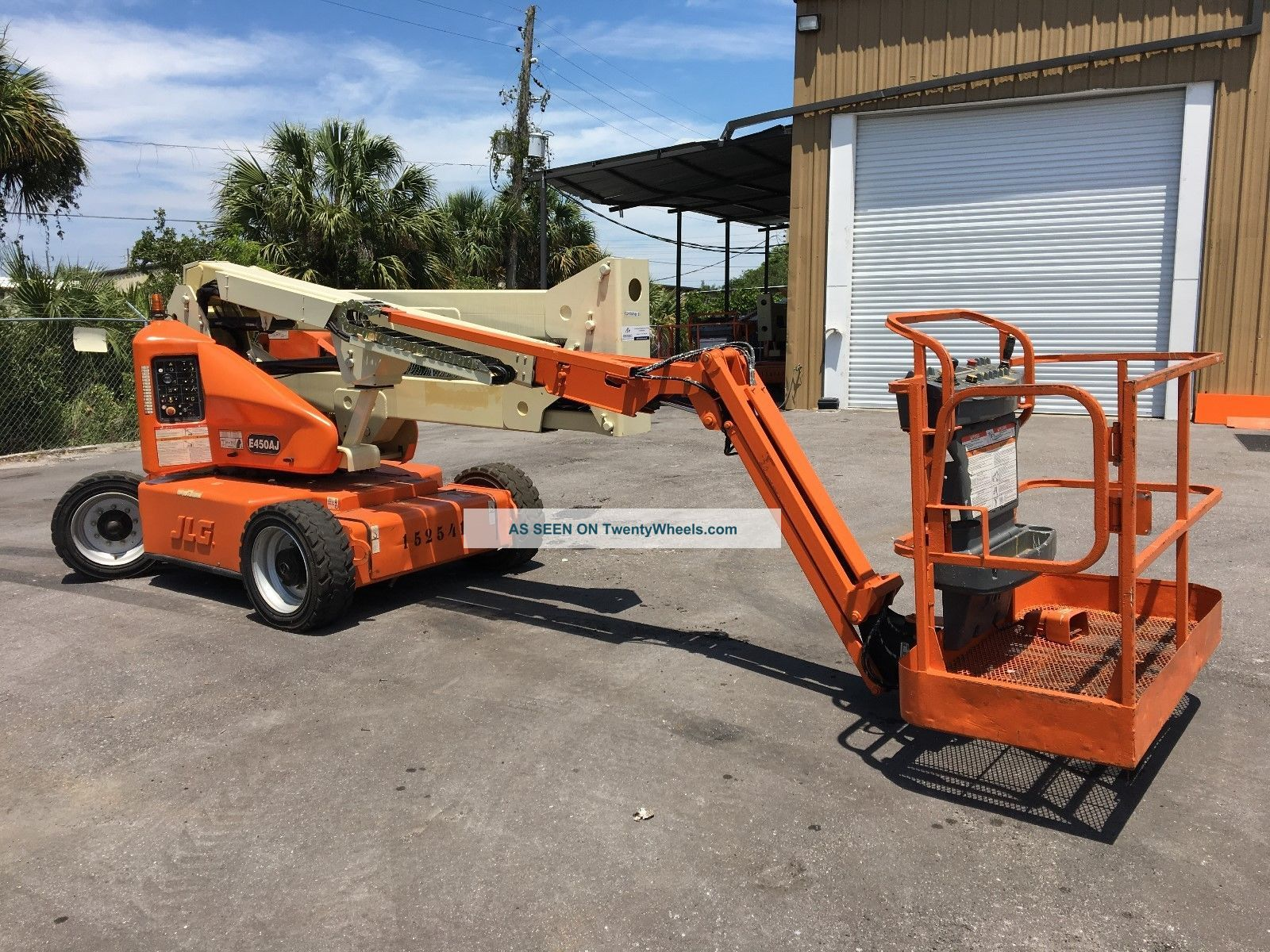 2012 Jlg E450aj Electric Articulating Boom Lift Scissor & Boom Lifts photo
