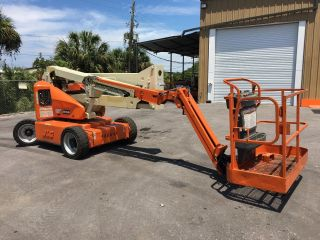 2012 Jlg E450aj Electric Articulating Boom Lift photo