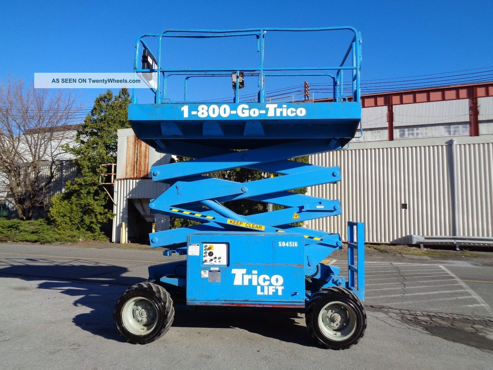 2009 Mec 3072rt 4x4 Rough Terrain 30ft Scissor Aerial Man Boom Lift Scissor & Boom Lifts photo