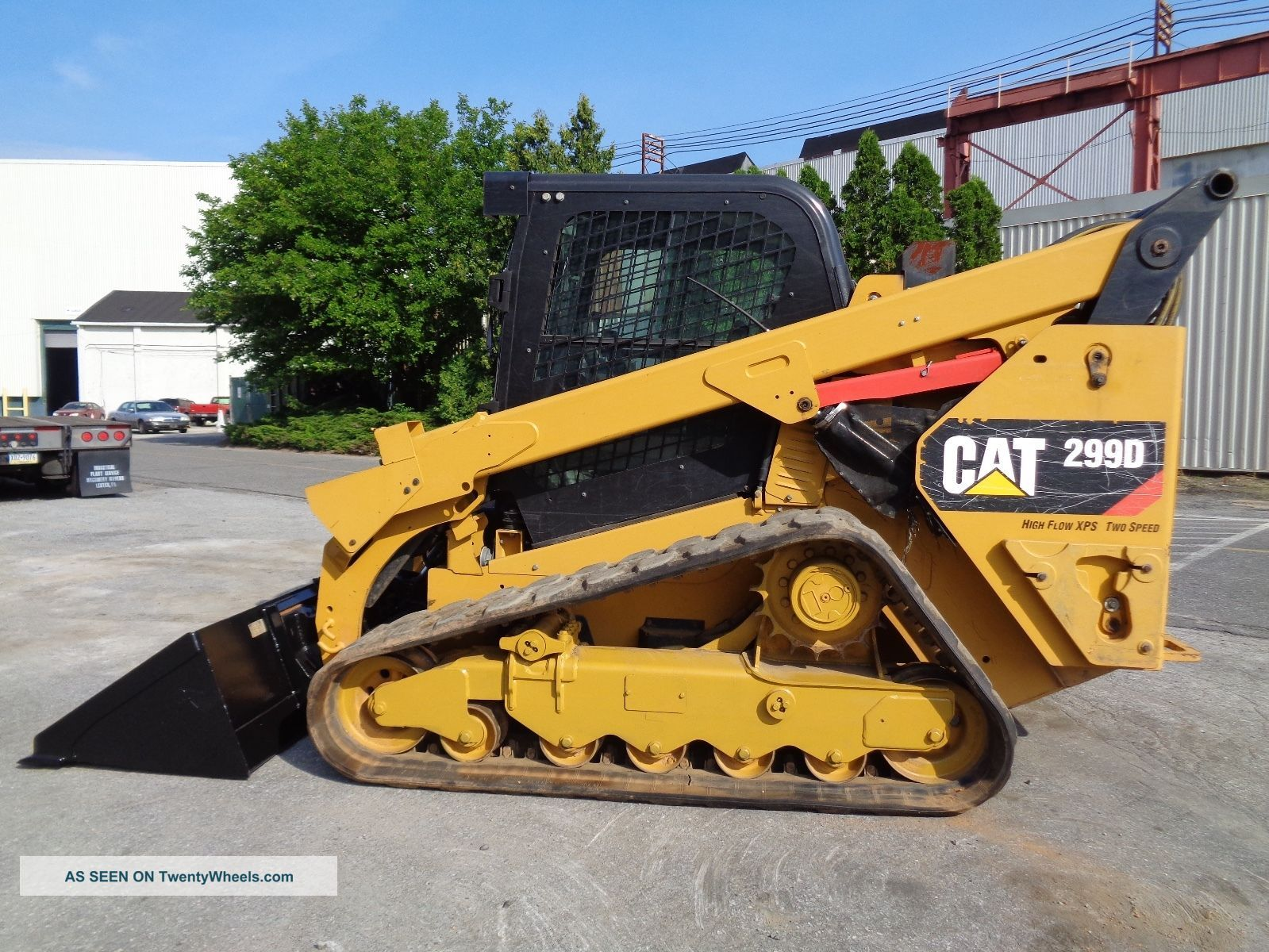 2015 Caterpillar 299d Track Skid Steer Xps High Flow 2 Speed