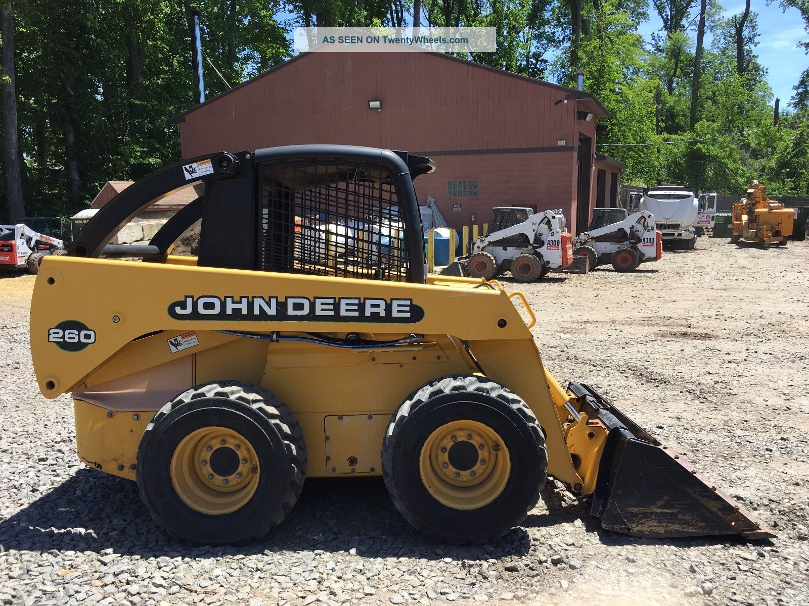 John Deere 260 Skid Steer Skid Steer Loaders photo
