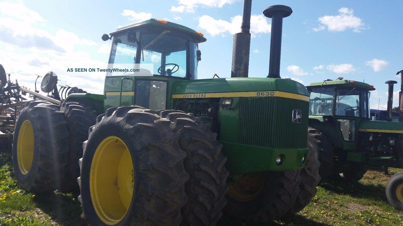 John Deere 8630 Tractor Tractors photo