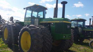 John Deere 8630 Tractor photo